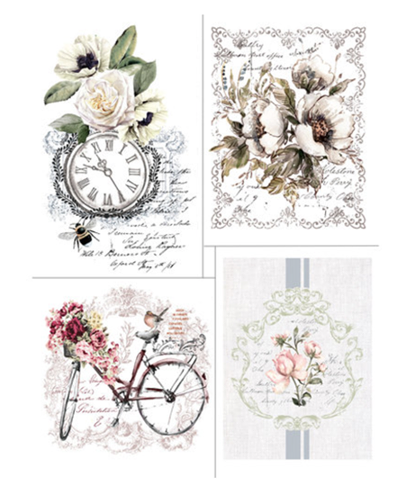 Redesign with Prima Rub On Transfers - Bike Ride - 4 designs