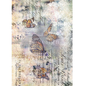 Load image into Gallery viewer, Redesign with Prima Rub On Transfers - Monarch Grace 86.3 x 60.9cm