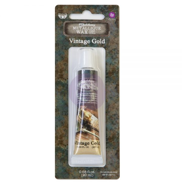 Redesign with Prima Waxes -  Metallic Vintage Gold 20ml