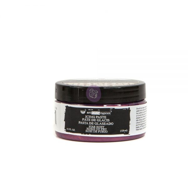 Redesign with Prima Icing paste - Fire Ruby 120ml