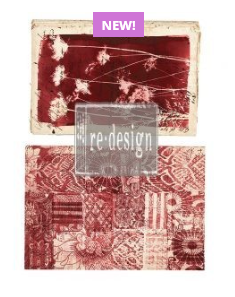 Redesign with  Prima Rub On Transfers - Botanical - 2 Designs