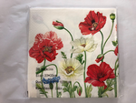 Paper Napkins - Poppies NPK036 20pk