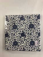 Paper Napkins - Blue and White Floral Vine NPK031 No. 3 20pk