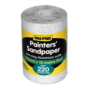 Sandpaper - 220 Fine - By the roll or metre