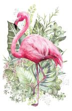 Load image into Gallery viewer, Hokus Pokus Rub On Transfers - Flamant Rose