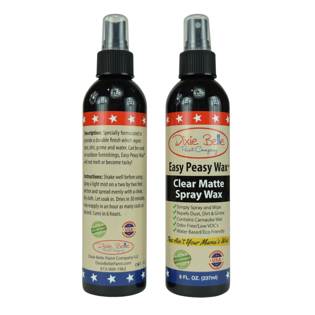 Dixie Belle Waxes  - Easy Peasy clear matte spray   237ml