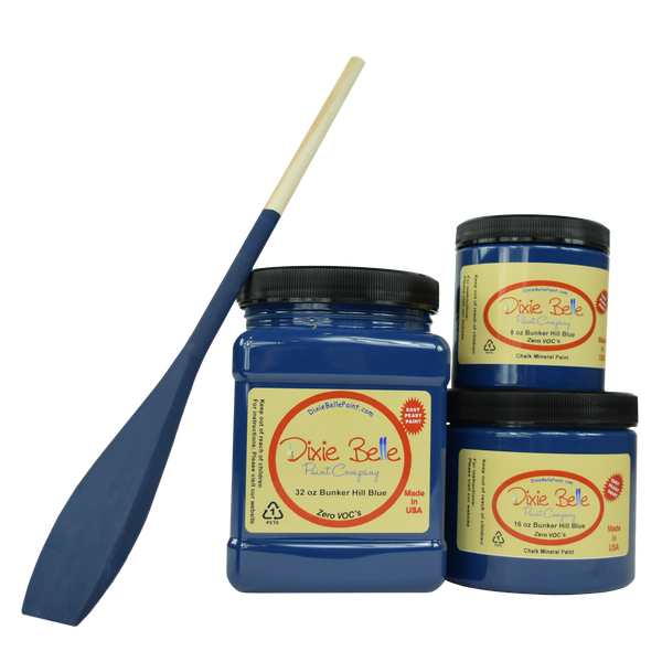 Dixie Belle Chalk Mineral Paint - Bunker Hill Blue