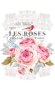 Hokus Pokus Rub on Transfers - Le Roses