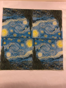 Paper Napkins - Night Sky NPK043g 20pk