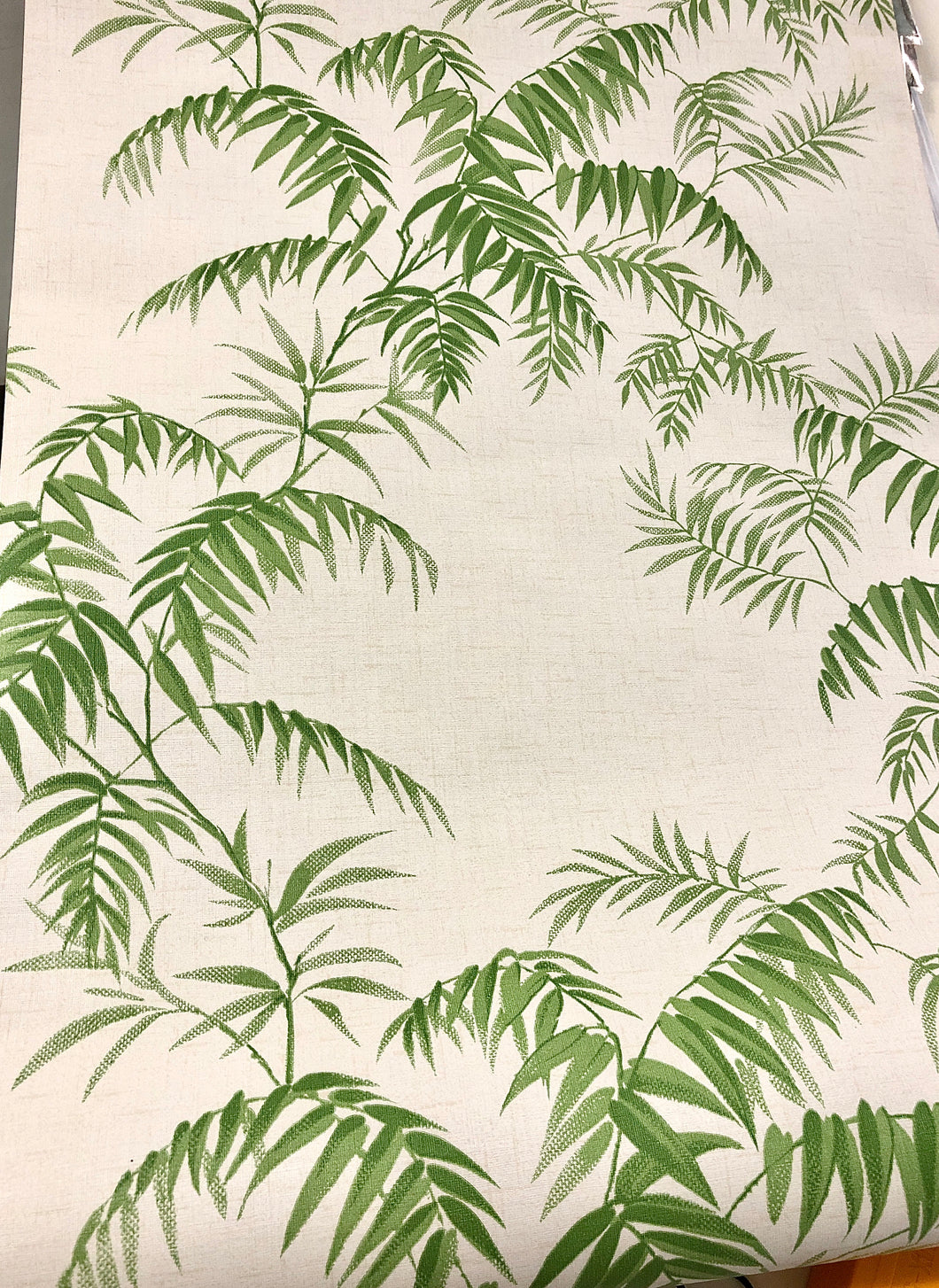 Wallpaper - Vintage - Palm Leaves
