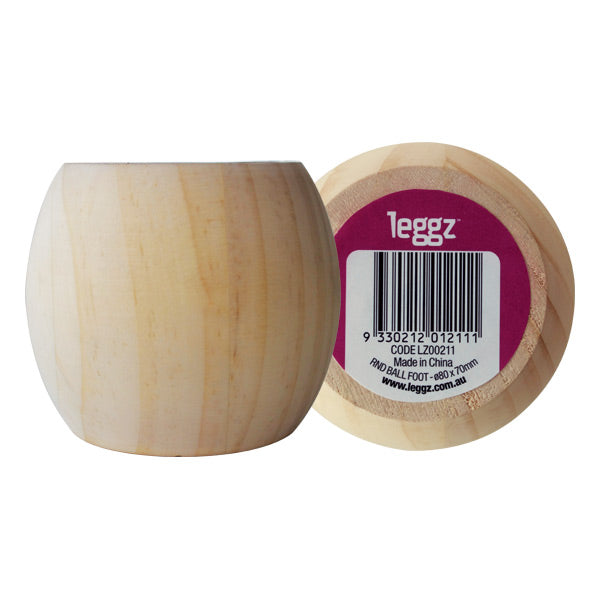Leggz - Ball Foot 80x70mm LZ00211