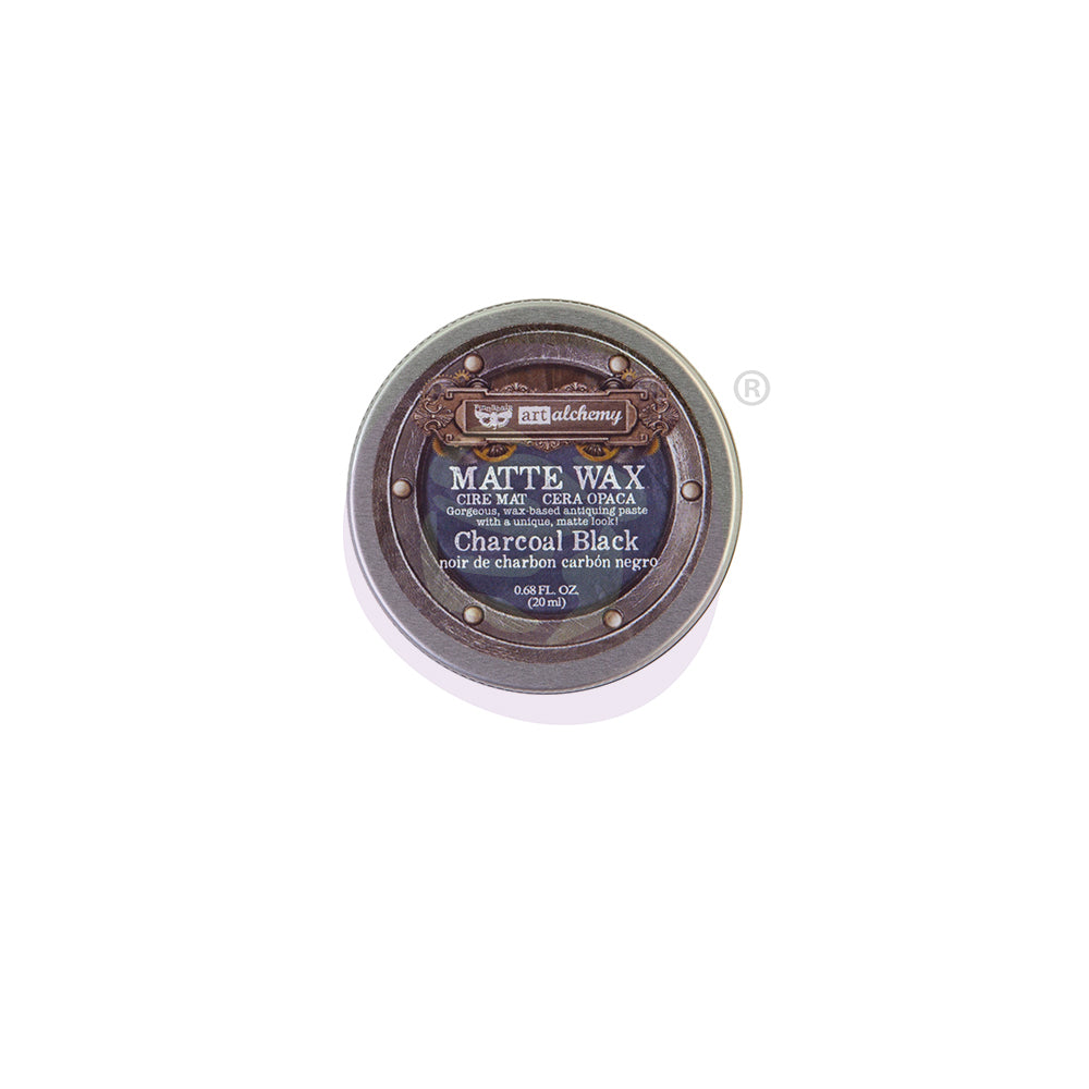 Redesign with Prima waxes - Charcoal Black - - Matt