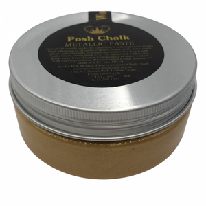 Load image into Gallery viewer, Posh Chalk Metallic Paste - Pearl Gold 150g