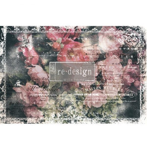 Redesign with Prima Decoupage Tissue Paper - CELESTE