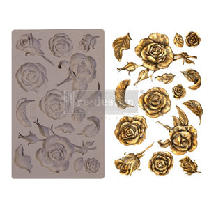 Redesign with Prima Moulds - Fragrant Roses