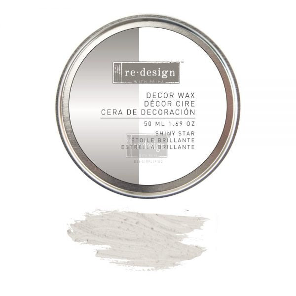 Redesign with Prima Waxes - Decor Wax - SHINY STAR 50ml