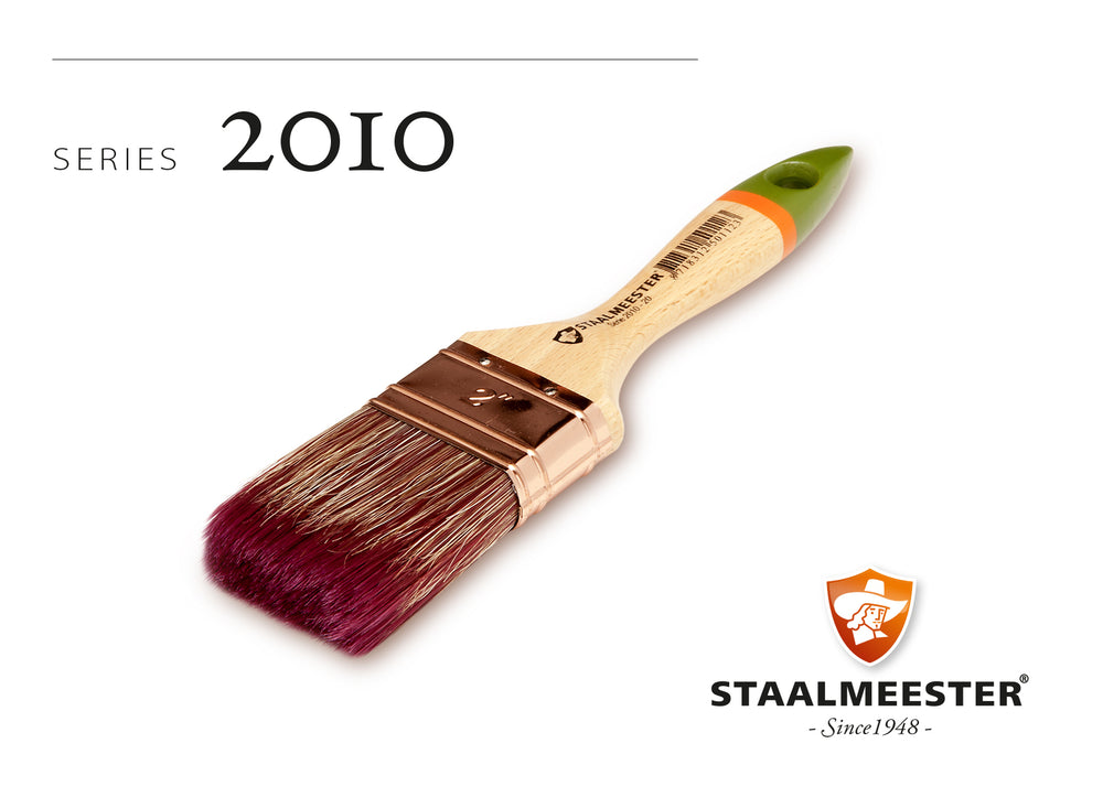 Fusion's Staalmeester Paint Brushes - 2010-10 Flat