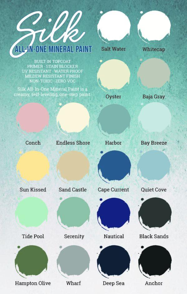 Silk All-in-One Mineral Paint - Tide Pool
