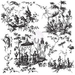 IOD - Decor Stamp TOILE CHINOISERIE