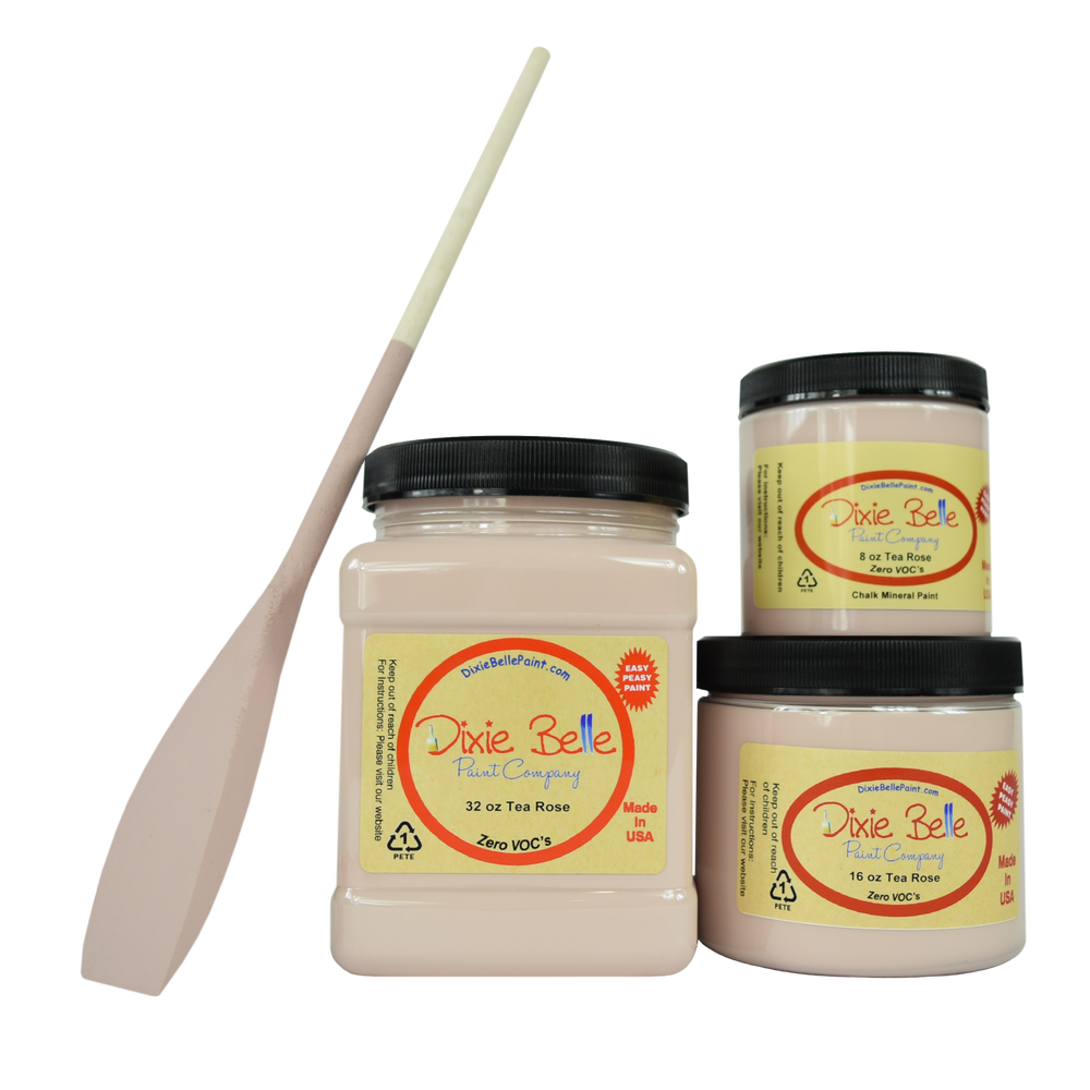 Dixie Belle Chalk Mineral Paint - Tea Rose