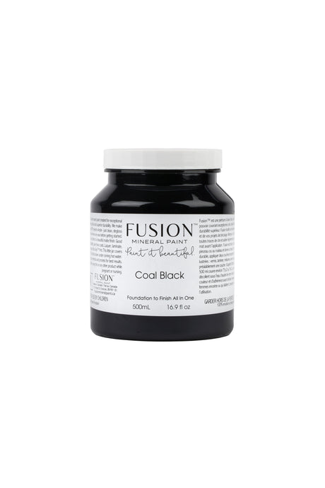 Fusion Mineral Paint - Coal Black    $40.00