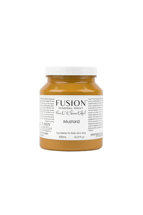 Fusion Mineral Paint - Mustard   $40.00