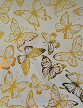 Load image into Gallery viewer, Hokus Pokus Rub On Transfers - Gold Foil Butterflies