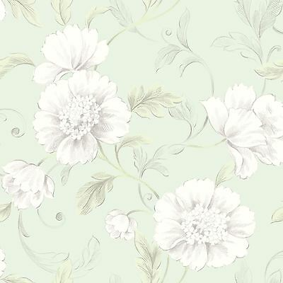 Wallpaper - Boutique Floral GREEN