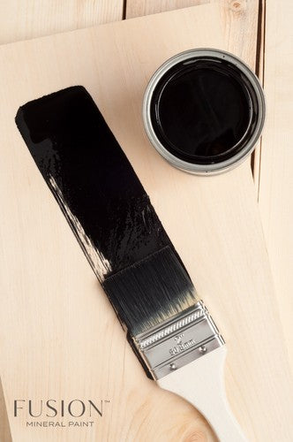 Fusion Stain and Finishing Oil - All in one - Ebony 237ml