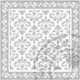 Load image into Gallery viewer, Stencils - Repeat Pattern Fleu de lis #145