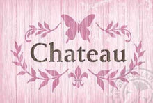 Load image into Gallery viewer, Stencils - Chateau 'Butterfly Wreath' #158