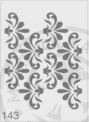 Stencils - Repeat Pattern #143