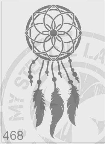 Stencils - Dream Catcher #468