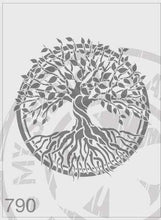 Load image into Gallery viewer, Stencils - Tree of Life #790