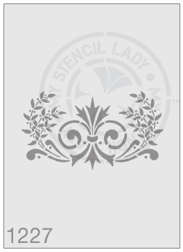 Load image into Gallery viewer, Stencils - #1227 Vintage style classic flourish