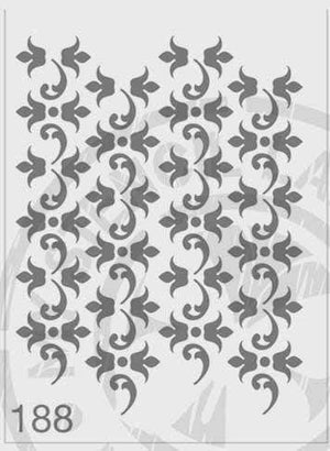 Load image into Gallery viewer, Stencils - Repeat Pattern #188