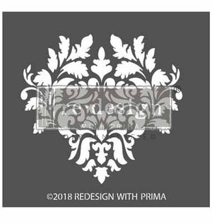Load image into Gallery viewer, Stencils - 3D (raised Stencilling)  Giovanna Flourish