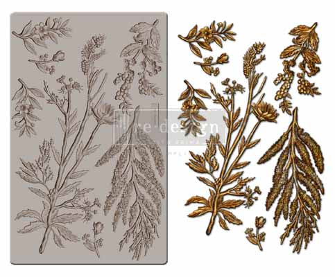 Redesign with Prima Moulds - Herbology