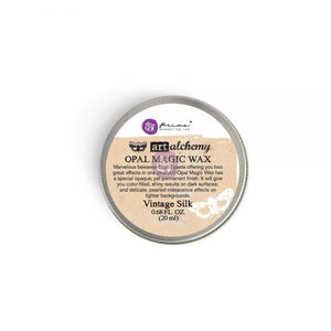 Redesign with Prima Waxes -Metallic VINTAGE SILK 20ml