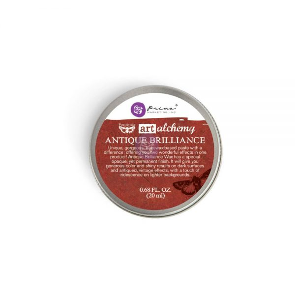 Redesign with Prima Waxes - Art Alchemy-Antique Brillance - FIRE RUBY 20ml