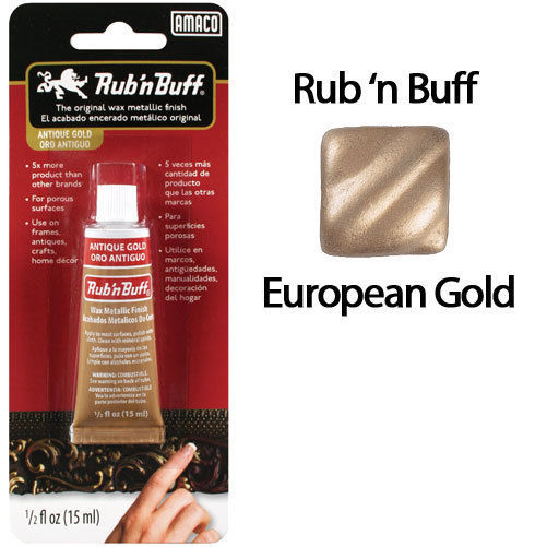 Rub 'N Buff - European Gold
