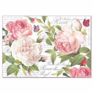 Load image into Gallery viewer, Rice Paper - Vintage Rose DFS394
