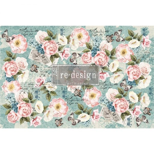 Redesign with Prima Decoupage Tissue Paper - ZOLA