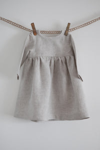 Linen Dress with long sleeves