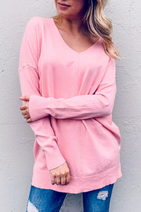 Bubblegum Pink Sweater