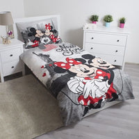 Housse de Couette Mickey et Minnie New York 140 x 200