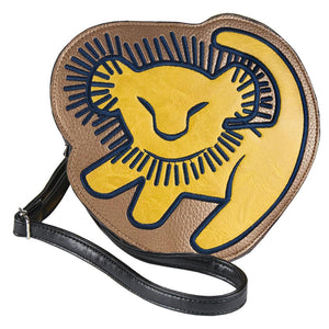 SAC À MAIN SIMILI-CUIR 3D ROI LION ADULTE