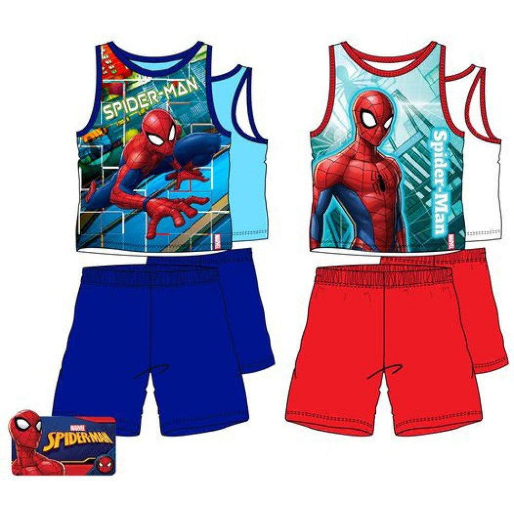 Pyjama été Spiderman