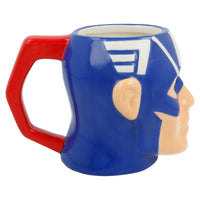 MUG EN CÉRAMIQUE 3D 320 ML  CAPTAIN AMERICA