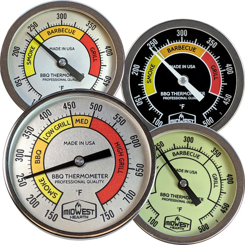 Midwest Hearth BBQ Grill Thermometers